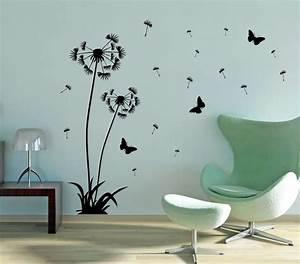 Wandtattoo Bad Günstig : shop wandtattoo pusteblume mit pollenflug blume l wenzahn wandaufkleber 2er set ebay ~ Markanthonyermac.com Haus und Dekorationen
