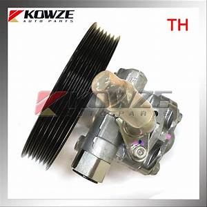 Power Steering Oil Pump For Mitsubishi Pajero Montero Sport Triton L200 Kg4w Kh4w Ka4t Kb4t 4d56