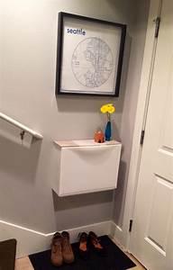 Ikea Schuhschrank Trones : gave my ikea trones cabinet a top out of tile samples full view photo trones vorraum ~ Orissabook.com Haus und Dekorationen