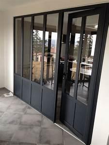 afficher l39image d39origine entree couloirs pinterest With porte de garage de plus porte bois vitree d interieur