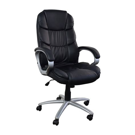 57 black leather executive office chair chairs