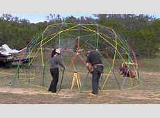 Geodesic Dome is possible with 300 dollars , thanks to