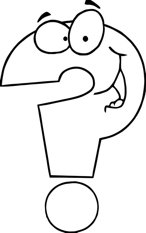 question coloring page wecoloringpagecom