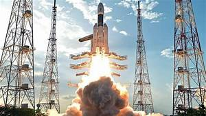Photos: ISRO launches its most powerful rocket GSLV Mark ...