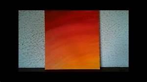 Comment Faire Du Gris En Peinture : bio tableau de peinture n 6 degrade orange jaune hd wmv youtube ~ Preciouscoupons.com Idées de Décoration