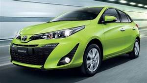 Nouvelle Yaris 2018 : toyota yaris facelifted in thailand ativ style front and cabin 7 airbags and vsc standard ~ Medecine-chirurgie-esthetiques.com Avis de Voitures