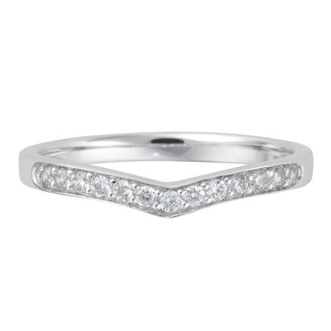 platinum diamond wishbone shaped wedding ring from berry s jewellers