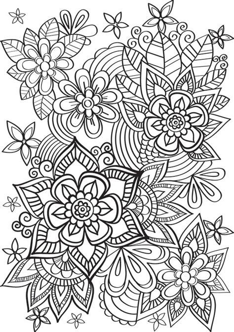 livre cuisine de jolies fleurs à colorier créapassions