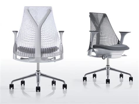 Herman Miller Sayl Chair White by Herman Miller Unveils New Sayl Eco Office Chair
