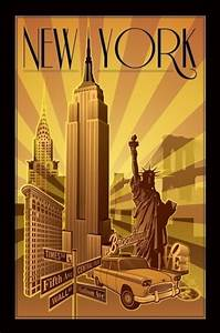 New York Poster : new york illustration poster sold at europosters ~ Orissabook.com Haus und Dekorationen