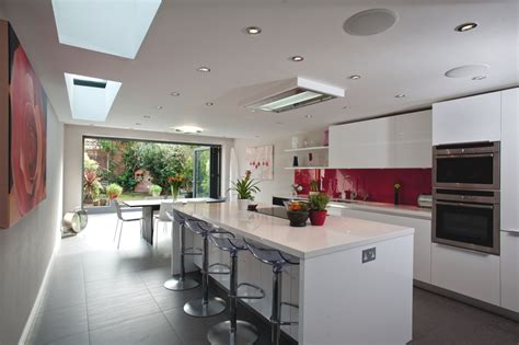 kitchen extensions ideas stylish kitchen design in a modern home adelto adelto