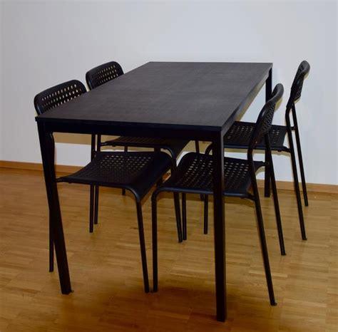 Ikea Tisch Kleinanzeigen by Ikea T 196 Rend 214 Tisch Inkl 4 Ikea Adde St 252 Hlen In Bludenz