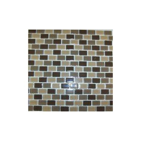 american olean glass tile backsplash shop american olean delfino glass chocolate caramel glass