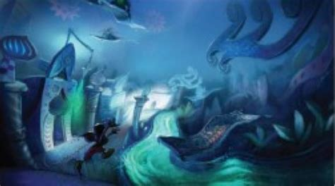 Image Epic Mickey Thinner Stream Concept Art Epic