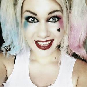 Suicide Squad Harley Quinn · A Makeup Look · Beauty on Cut