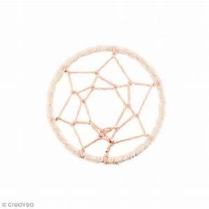 Tissu Attrape Reve : pendentif tissu attrape r ves rose pastel 47 mm ~ Teatrodelosmanantiales.com Idées de Décoration