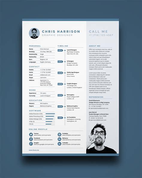 unique resume template  list   unique resume