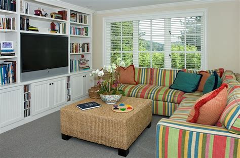 small tv rooms  balance style  functionality