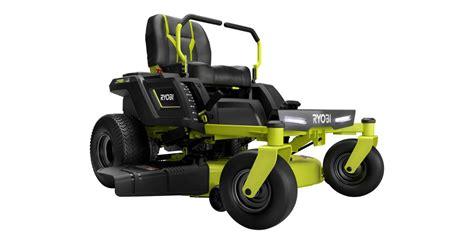 ryobi mower lawn turn zero electric riding 42 inch depot electrek mowers deals today take deck yard