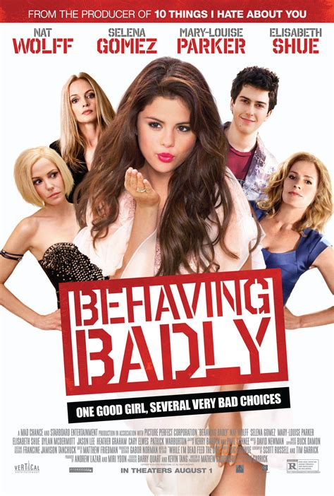 Selena Gomez Behaving Badly 2019 Promos And Posters