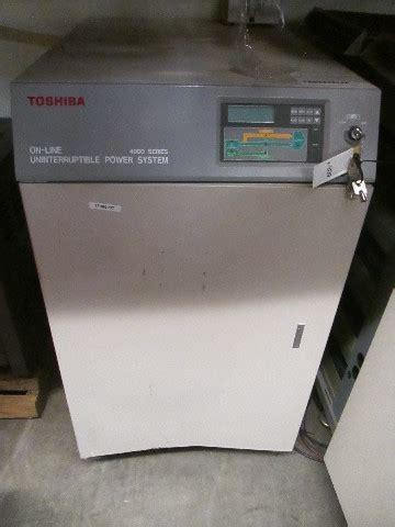 toshiba  series   uninterruptible power system
