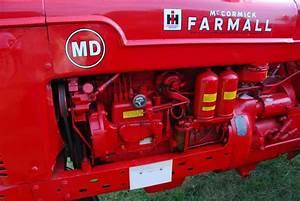 Tractor Talk  1941 Farmall Md Diesel  First Of The Breed