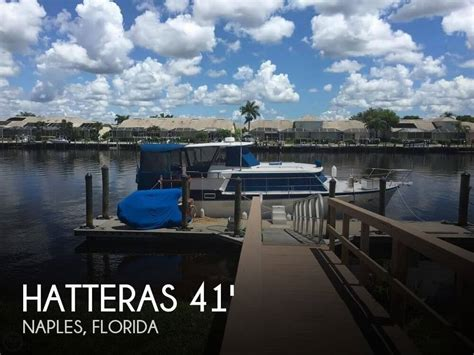 Houseboats For Sale Naples Florida by For Sale Used 1968 Hatteras 41 Cabin Motor Yacht