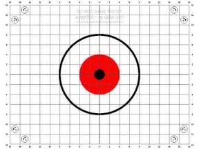 50-Yard Zeroing Target Printable
