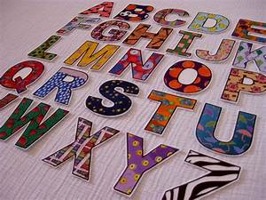 pdf abc alphabet number fridge magnets cut outs felt With how to cut felt letters