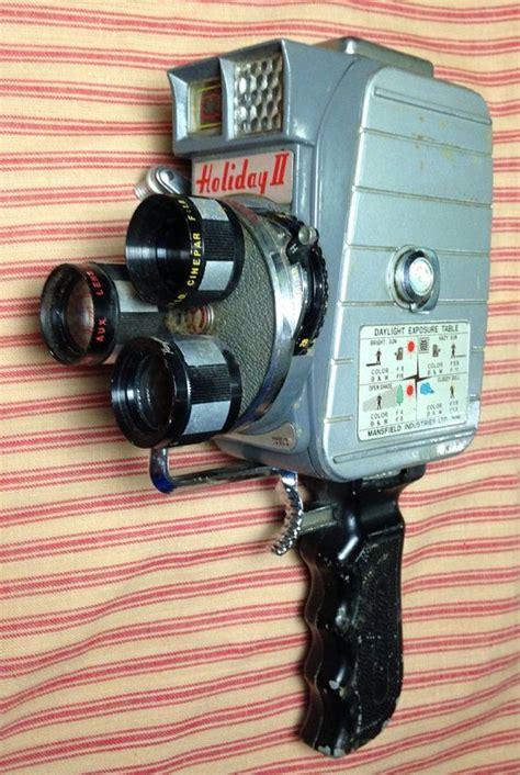Mansfield Holiday II 8mm Triple Lens Vintage Movie Camera ...