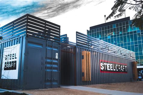 steelcraft shipping container mall i build america