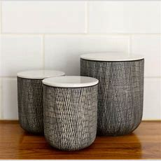Ceramic Danish Storage Jars By The Forest & Co