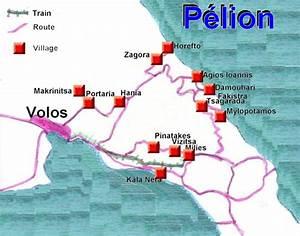 Le massif du Pélion