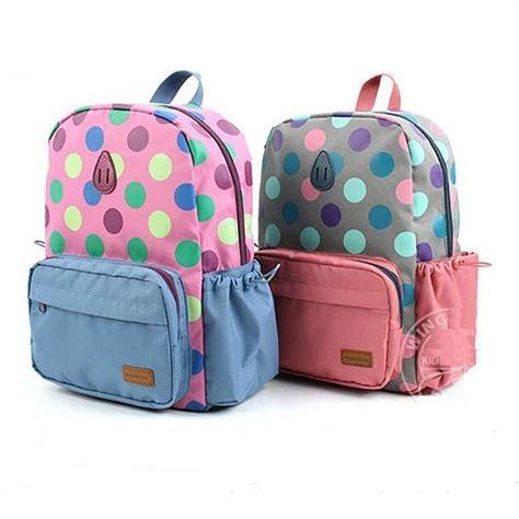 preschool book bags polka dot school bag for children backpacks 258