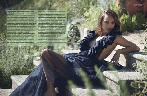 Natalie Portman For Elle Magazine South Africa