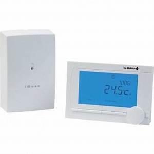 Thermostat Chaudiere Sans Fil : de dietrich thermostat d ambiance programmable modulant ~ Dailycaller-alerts.com Idées de Décoration