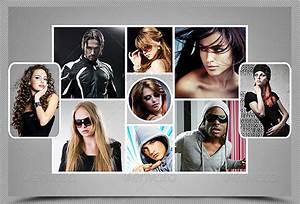 Montage Photo Photoshop : 25 killer psd photo collage templates pixel curse ~ Medecine-chirurgie-esthetiques.com Avis de Voitures