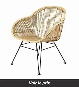 Fauteuil Rotin Maison Du Monde : fauteuil en rotin 11 mod les pour donner une note exotique votre d co ~ Teatrodelosmanantiales.com Idées de Décoration