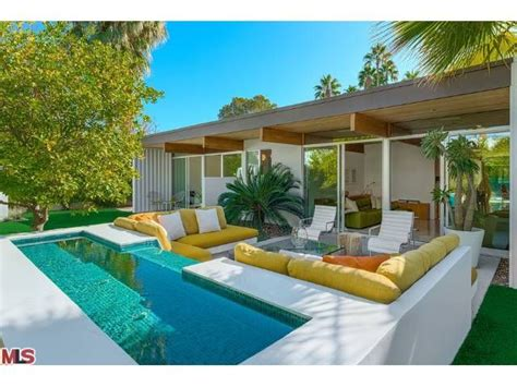 decor pools palm springs home  love   color
