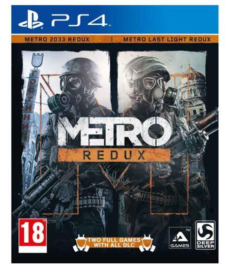 Buy Metro 2033 Redux Ps4 Online At Best Price In India