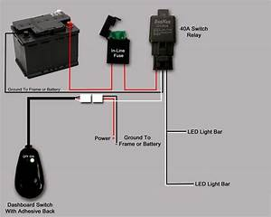 How To Wire Led Lights To A Toggle Switch