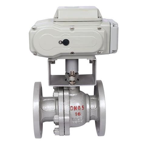 valve ball actuator electric flanged fine valves butterfly choose sinopro ae