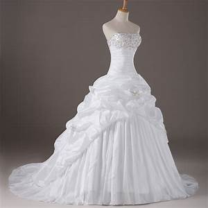 corset lace up beaded reffuled victorian ball gown bridal With bride wedding dress