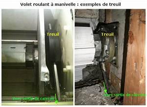 Treuil Volet Roulant : volet roulant qui grince comment enlever le grincement ~ Voncanada.com Idées de Décoration