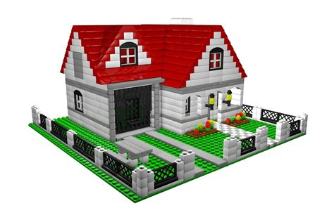 Lego House - lego house by vladim00719 3docean