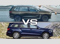 2018 BMW X7 Concept vs 2017 Mercedes GLS YouTube