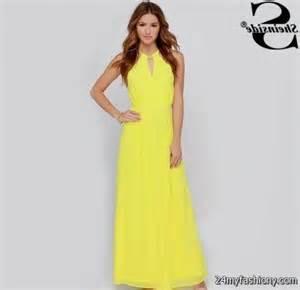 bloomingdales wedding dresses yellow summer maxi dress 2016 2017 b2b fashion