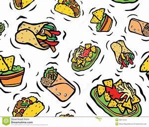 Mexican Food Cartoons Clipart