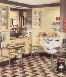 1930 homes interior 1936 armstrong linoleum flooring ad for a modern yellow kitchen vintage design inspiration