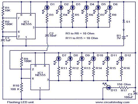 Flashing Led Unit Under Repository Circuits Next